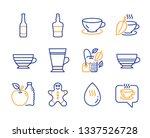 cappuccino  espresso and mocha... | Shutterstock .eps vector #1337526728