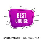 speech bubble banner. best... | Shutterstock .eps vector #1337530715