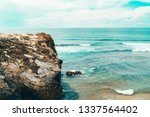 beautiful landscape and...   Shutterstock . vector #1337564402