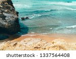 beautiful landscape and...   Shutterstock . vector #1337564408