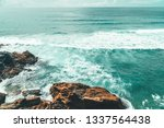 beautiful landscape and...   Shutterstock . vector #1337564438