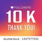 thanks for the first 10000... | Shutterstock .eps vector #1337577452