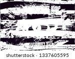 distressed background in black... | Shutterstock . vector #1337605595