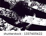distressed background in black... | Shutterstock . vector #1337605622
