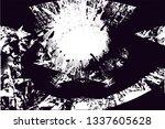 distressed background in black... | Shutterstock . vector #1337605628