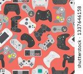 video game controller... | Shutterstock . vector #1337646158