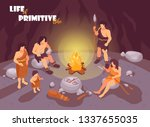 isometric primitive people...