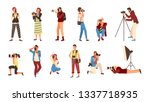 professional photographers... | Shutterstock .eps vector #1337718935