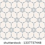 geometric shape abstract vector ... | Shutterstock .eps vector #1337737448