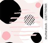 seamless pattern. abstract...   Shutterstock .eps vector #1337750585