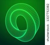 mobius strip ring sacred... | Shutterstock . vector #1337752382