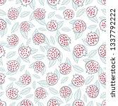 seamless hand drawn pattern... | Shutterstock .eps vector #1337792222