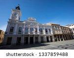 guadalajara  spain  feb 24 2019 ...   Shutterstock . vector #1337859488
