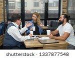 recruitment process new team... | Shutterstock . vector #1337877548