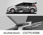 car wrap decal design vector.... | Shutterstock .eps vector #1337914088