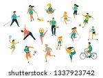 world health day. vector... | Shutterstock .eps vector #1337923742
