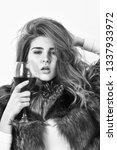 elite leisure. lady fashion...   Shutterstock . vector #1337933972