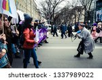 kharkiv  ukraine   march 8 ... | Shutterstock . vector #1337989022