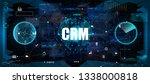crm   customer relationship...   Shutterstock .eps vector #1338000818