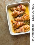 close up of tray of roasted... | Shutterstock . vector #1338007802