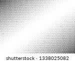 black and white dots background.... | Shutterstock .eps vector #1338025082