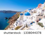 the famous greek orthodox... | Shutterstock . vector #1338044378