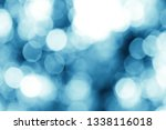 blue bokeh background   Shutterstock . vector #1338116018