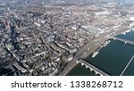 aerial photo of downtown... | Shutterstock . vector #1338268712