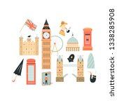london abstract background ... | Shutterstock .eps vector #1338285908