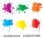 vector collection of artistic... | Shutterstock .eps vector #1338337385