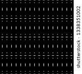 design seamless monochrome grid ... | Shutterstock .eps vector #1338351002