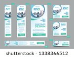 city background corporate web... | Shutterstock .eps vector #1338366512