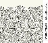 vector seamless pattern.... | Shutterstock .eps vector #1338368612