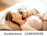 mom is there to keep your dream.... | Shutterstock . vector #1338450458