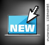 new word display on high... | Shutterstock .eps vector #1338468485