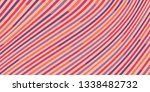 colorful striped background.... | Shutterstock .eps vector #1338482732