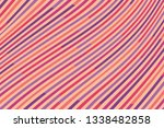 colorful striped background.... | Shutterstock .eps vector #1338482858