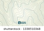 the stylized height of the... | Shutterstock .eps vector #1338510368