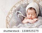 beautiful little newborn baby 2 ...   Shutterstock . vector #1338525275