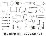 infographic elements on... | Shutterstock . vector #1338528485