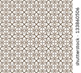 vector seamless illustration of ... | Shutterstock .eps vector #133860506