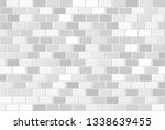 abstract geometric background... | Shutterstock . vector #1338639455
