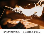 close up of a hand of a...   Shutterstock . vector #1338661412