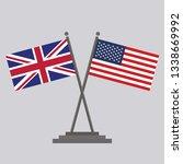 flag of united state of america ...   Shutterstock .eps vector #1338669992
