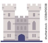 windsor castle vector... | Shutterstock .eps vector #1338690038