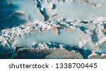 natural hot springs in saturnia ... | Shutterstock . vector #1338700445