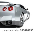 Stock photo sport car isolated on a white background 133870955