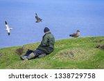 shetland isles  uk   may 2018.... | Shutterstock . vector #1338729758