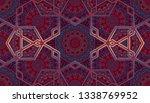 abstract islamic pattern ... | Shutterstock . vector #1338769952
