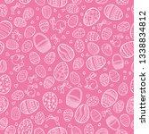 vector seamless pattern for... | Shutterstock .eps vector #1338834812